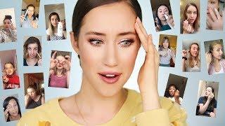 I Followed YOUR Makeup Tips