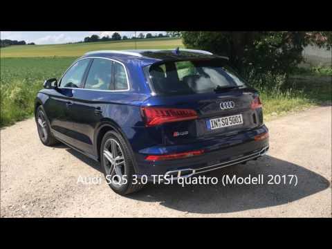 Der neue Audi SQ5 3 0 TFSI quattro - Soundcheck