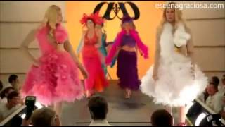 Escena Graciosa De ¿Y Dónde Están Las Rubias  White Chicks Desfile De Modas