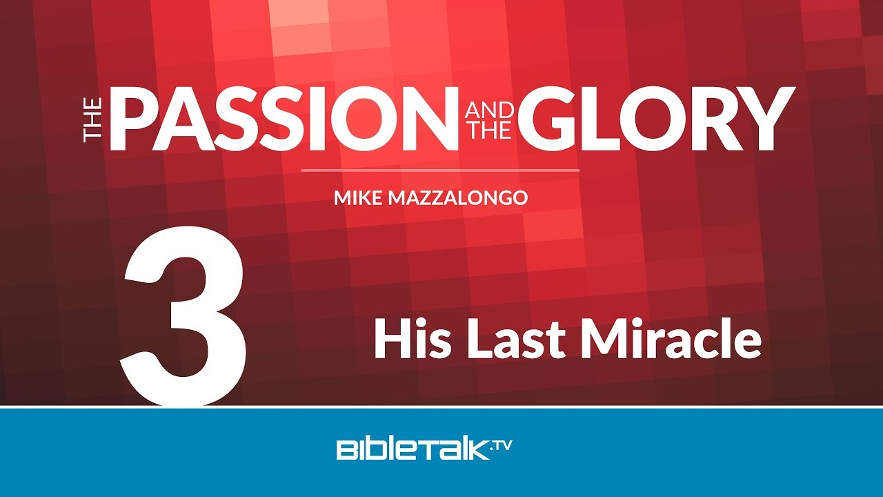 3. His Last Miracle