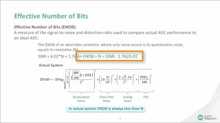 Understanding the Specifications of ADCs