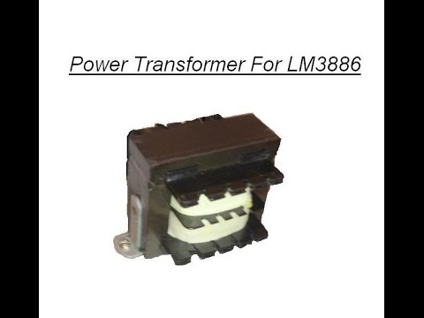 Power Transformers for LM3886