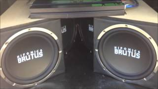 hifonics hfx12d4 12-inch 1600 watt hf series dual 4 ohm car