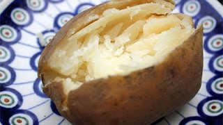 how to cook jacket potatoes quickly in oven