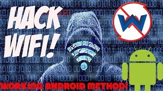 How To Hack Wifi Password | With Android Phone | Quickest Method