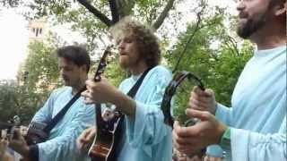 Dispatch - Get Ready Boy - Live Acoustic - Washington Square Park - Up Close!