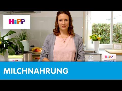 HiPP: Instructions on Preparing Bottle Feeds for Babies