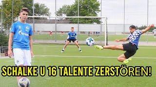 Schalke U 16 Talente Zerstören Mich In Fussball Challenge!