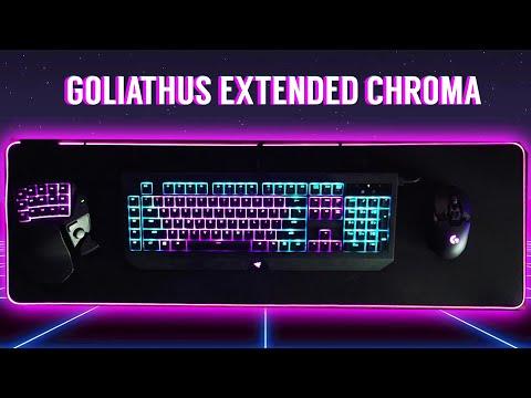 Razer Goliathus Extended Chroma Soft Mouse Mat (Review)