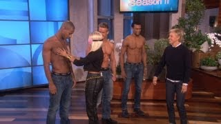 Ники Минаж, Nicki Minaj Gets Personal with Some Hunks