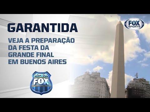 A FESTA ESTÁ GARANTIDA! Veja a preparação da festa da Grande Final em Buenos Aires