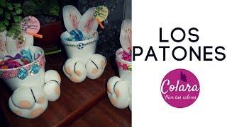 Conejitos De Pascua Patones Fácil Y Rápido Paso A Paso //  Easter Rabbit  Step By Step + PDF!