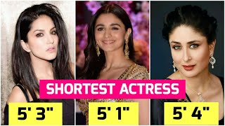 16 Shortest Bollywood Actresses