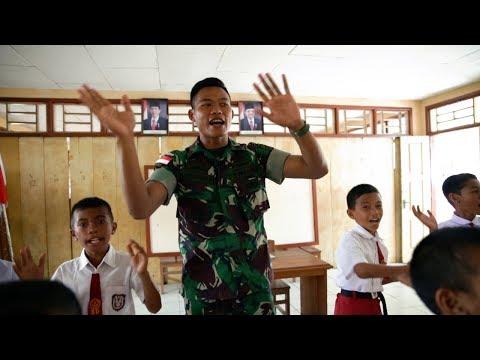 Kekurangan Guru di Miangas, Prajurit TNI Jadi Tenaga Pengajar