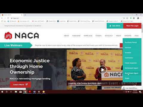 NACA Agent Portal Purchase Contract Upload Instructions - YouTube