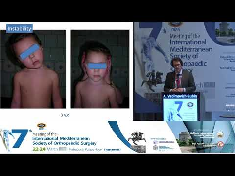 Vadimovich Gubin A - The biggest Russian experience of pediatric cervical spine surgery made in one orthopaedic center
