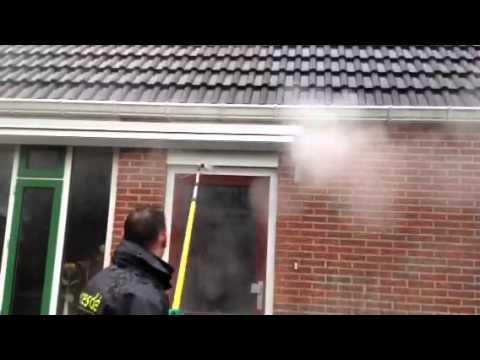 Eresdé heeft opdracht verkregen voor reinigen van 700 dakgoten in Friesland