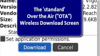 How to download and install BlackBerry software Over-the-Air (OTA)