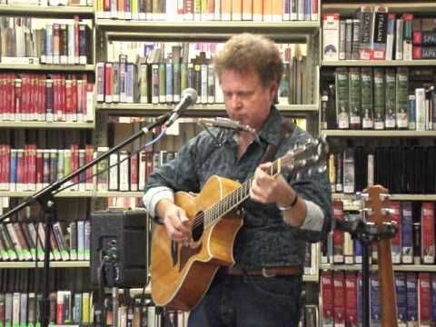 """Ron Dometrovich singing """"Devils Mouth"""" at the Pell City, AL Library 7-18-12."""
