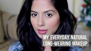 Image for video on Everyday NATURAL - LONG-WEARING Makeup for Indian Skin (Brown-Tan-Olive Skin) by Beauty Confessionz