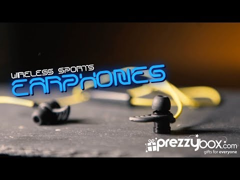 Wireless Sports Earphones - Yellow