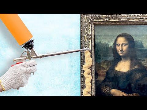 סרטון טיפים עם רעיונות מדליקים לחפצי נוי תוצרת בית