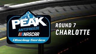 NASCAR PEAK Antifreeze iRacing Series | Round 7 at Charlotte
