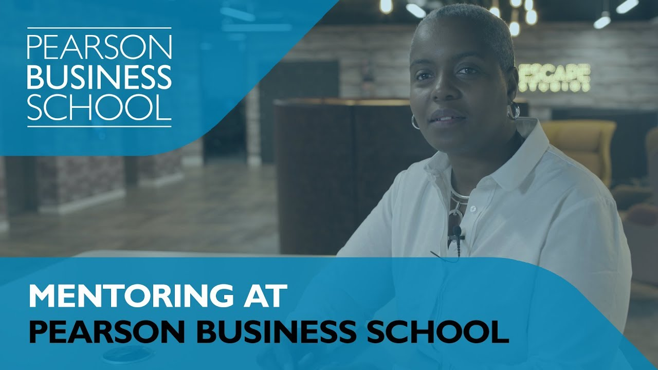 Mentoring at Pearson Business School