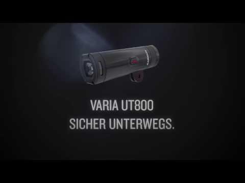 Garmin Varia UT 800 avec porte-casque (800lm)