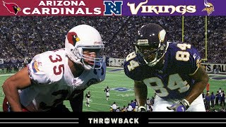 Randy Moss' FIRST Playoff Game! (Cardinals vs. Vikings, 1998 NFC Divisional)