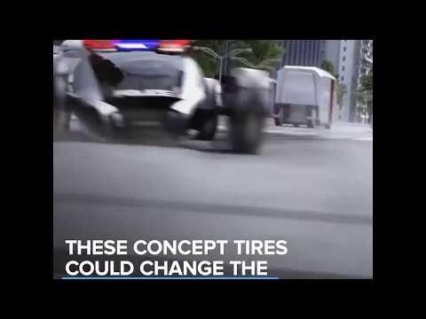 Futuristic Tyre concept