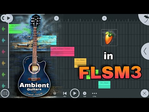 Ambient Guitars Sound Sample Pack Download And install In FL