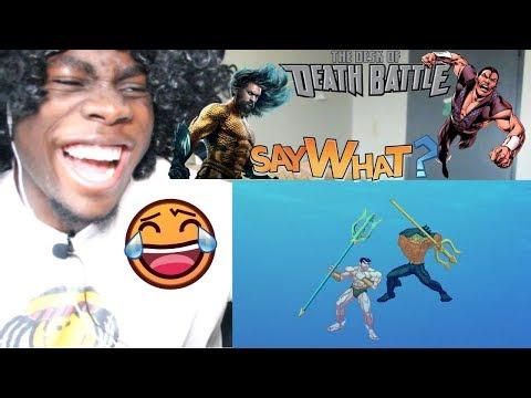 Aquaman VS Namor (Marvel VS DC Comics)   DEATH BATTLE! by DEATH BATTLE! REACTION!!!