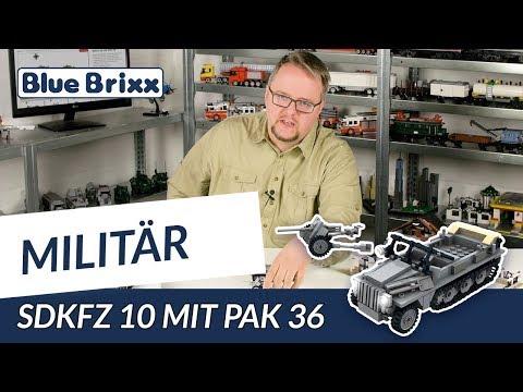 SdKfz 10 mit PaK 36