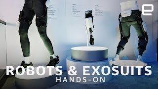 Samsung's New Robots and Exosuits First Look at CES 2019