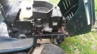 craftsman riding lawn mower hydrostatic transmission problems - Thủ