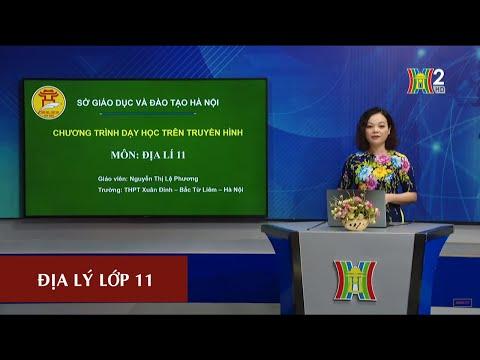 MÔN ĐỊA LÝ - LỚP 11 | BÀI 11: KHU VỰC ĐÔNG NAM Á (TIẾT 1) | 17H10 NGÀY 16.04.2020 | HANOITV