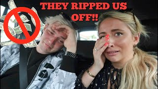 We stayed in America's most haunted hotel!! + We got mugged off ..