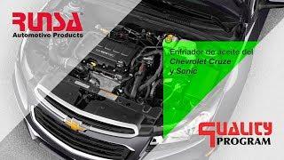 Enfriador de Aceite del Chevrolet Cruze / Sonic