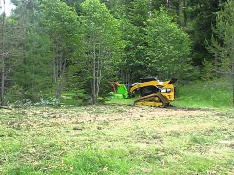 FORESTRY MULCHER/ ROTARY AXE CASE TR320 for hire in Toowoomba, QLD 4350