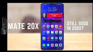 Huawei Mate 20 X One Year Later:  Still Good in 2020?