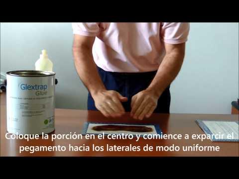 Aplicación y uso de Glextrap Glue Glebaambiental