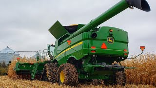 Our First Day of Corn Harvest with the S780
