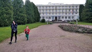 Прогулка Моршином от источника №4 через парк. Видео