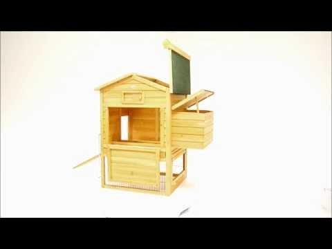 Poulailler en bois 2/6 poules LBH JARDIN - LODGE