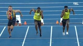 Miramas 2019 : Finale 60 m M (Marvin René en 6''63)