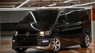 ᴴᴰ VW Transporter Caravelle T5 T6 T7 Modifiye Tuning - Modified Cars Body Kit