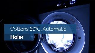 Haier I-Pro Series 7 washing machine - Cottons 60°, Automatic