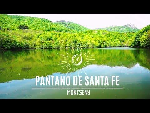 Montseny|PANTANO DE SANTA FE | ruta senderismo por cataluña