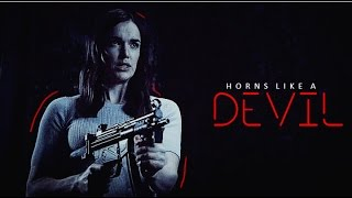 Jemma Simmons || Horns Like a Devil